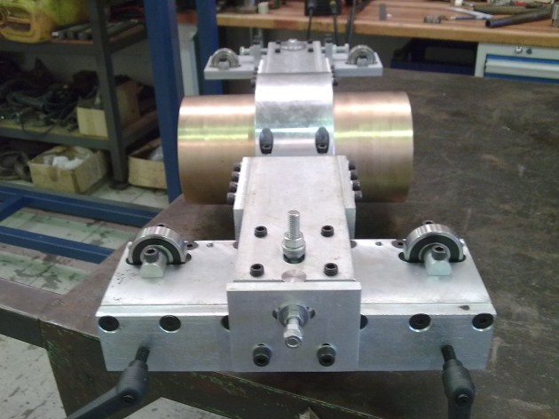 Calibrator carraige2